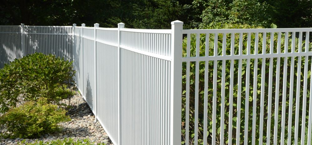 Travertine Aluminum Fence