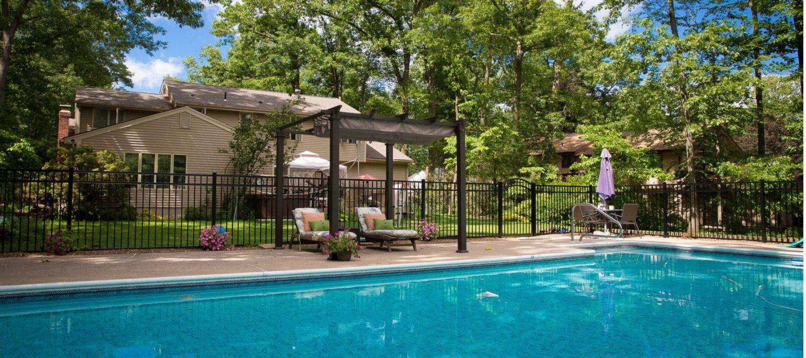 Inspirational Pool Fence Ideas