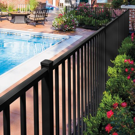 pool fence - project photo